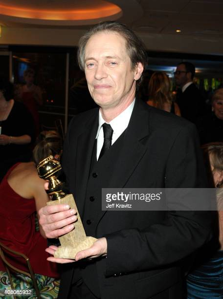Actor Steve Buscemi attends HBO's 68th Annual Golden Globe Awards Official After Party held at The Beverly Hilton hotel on January 16 2011 in Beverly...