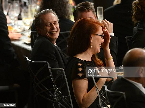 Actor Steve Buscemi attends the 19th Annual Screen Actors Guild Awards held at The Shrine Auditorium on January 27 2013 in Los Angeles California