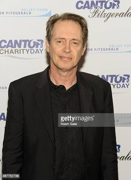 Actor Steve Buscemi attends the annual Charity Day hosted by Cantor Fitzgerald and BGC at Cantor Fitzgerald on September 11 2015 in New York City