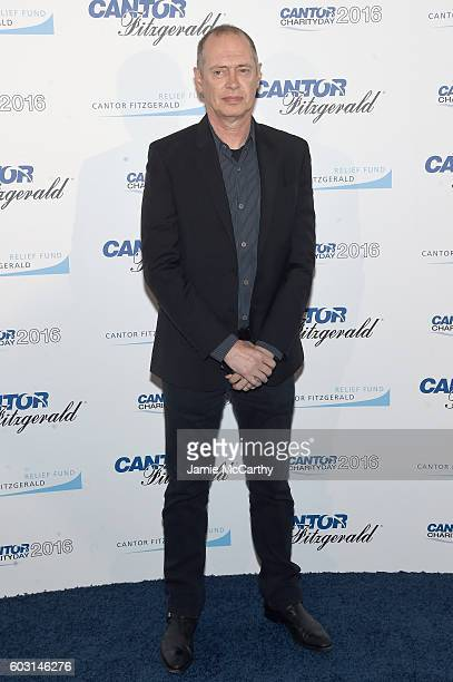 Actor Steve Buscemi attends the Annual Charity Day hosted by Cantor Fitzgerald BGC and GFI at Cantor Fitzgerald on September 12 2016 in New York City