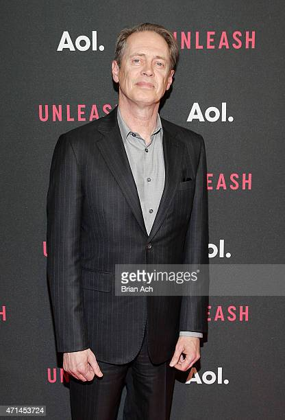 Actor Steve Buscemi attends the AOL 2015 Newfront on April 28 2015 in New York City