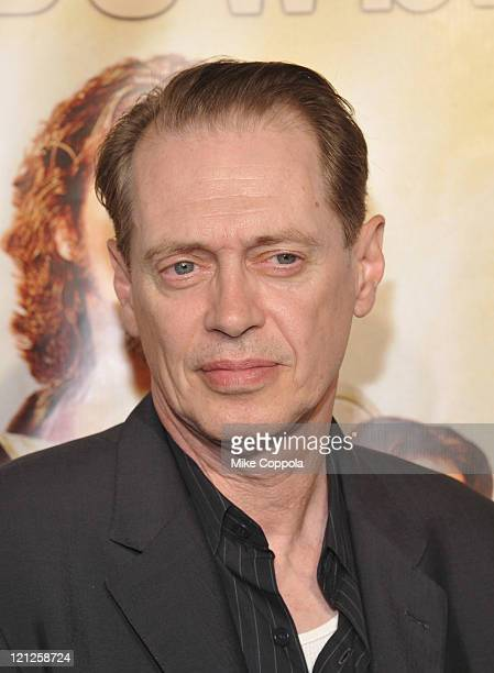 Actor Steve Buscemi attends 'The Big Lebowski' Bluray release at the Hammerstein Ballroom on August 16 2011 in New York City