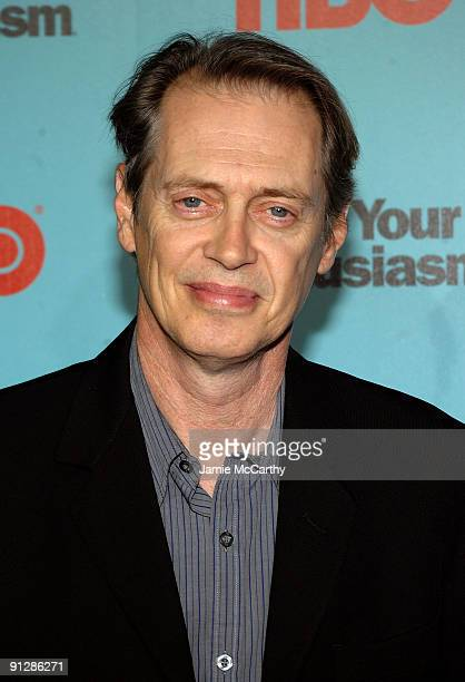 Actor Steve Buscemi attends the Curb Your Enthusiasm Season 7 New York screening at the Time Warner Screening Room on September 30 2009 in New York...