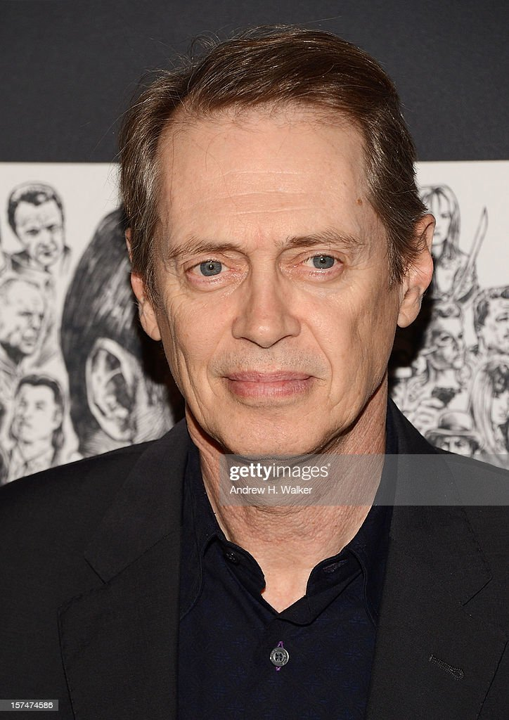 Actor Steve Buscemi attends The Museum of Modern Art Film Benefit Honoring Quentin Tarantino at MOMA on December 3, 2012 in New York City.