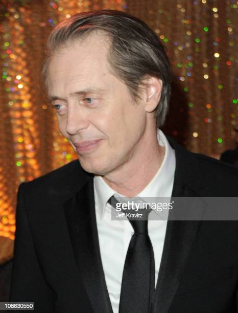 Actor Steve Buscemi attends the official HBO SAG Awards after party held at at Spago on January 29 2011 in Beverly Hills California
