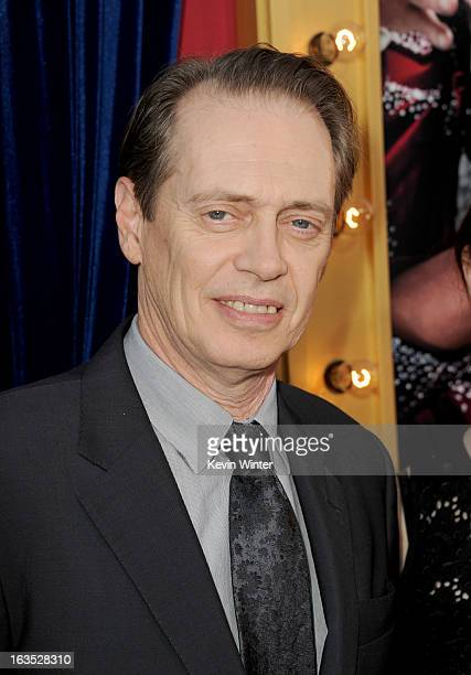 Actor Steve Buscemi attends the premiere of Warner Bros Pictures' 'The Incredible Burt Wonderstone' at TCL Chinese Theatre on March 11 2013 in...