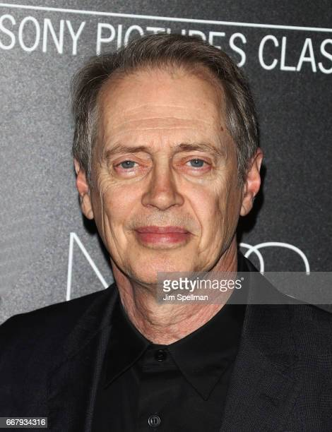 Actor Steve Buscemi attends the screening of Sony Pictures Classics' Norman hosted by The Cinema Society with NARS AVION at the Whitby Hotel on April...