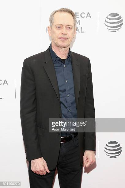 Actor Steve Buscemi attends the Tribeca Film Festival Shorts New York Now at Regal Battery Park Cinemas on April 15 2016 in New York City