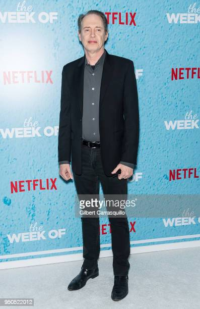 Actor Steve Buscemi attends 'The Week Of' New York Premiere at AMC Loews Lincoln Square on April 23 2018 in New York City