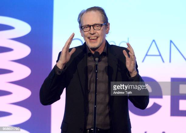 Actor Steve Buscemi onstage at The 22nd Annual Webby Awards at Cipriani Wall Street on May 14 2018 in New York City