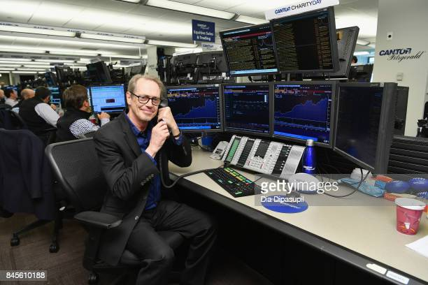 Actor Steve Buscemi participates in Annual Charity Day hosted by Cantor Fitzgerald BGC and GFI at Cantor Fitzgerald on September 11 2017 in New York...