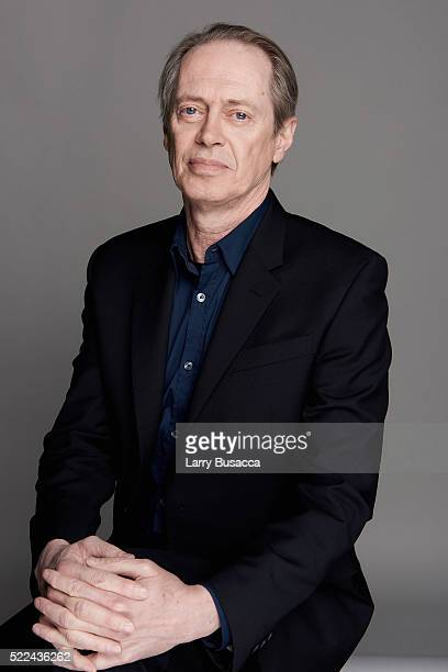 Actor Steve Buscemi poses for a portrait during the Juror Welcome Lunch at the 2016 Tribeca Film Festival on April 14 2016 in New York City