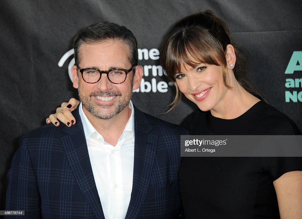 Actor Steve Carell and actress Jennifer Garner arrive for the Premiere Of Disney's 'Alexander And The Terrible, Horrible, No Good, Very Bad Day' held at the El Capitan Theatre on October 6, 2014 in Hollywood, California.