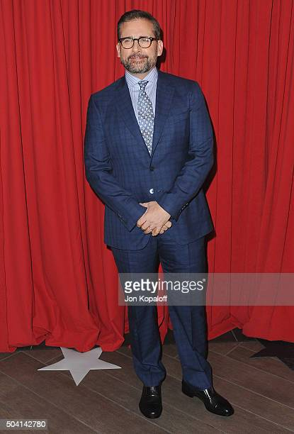 Actor Steve Carell arrives at the 16th Annual AFI Awards on January 8 2016 in Los Angeles California