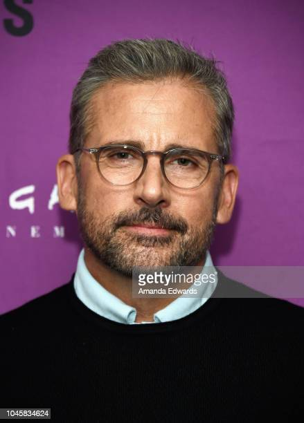 Actor Steve Carell attends a special screening of Beautiful Boy hosted by Film Independent at the Harmony Gold Preview House and Theater on October 4...