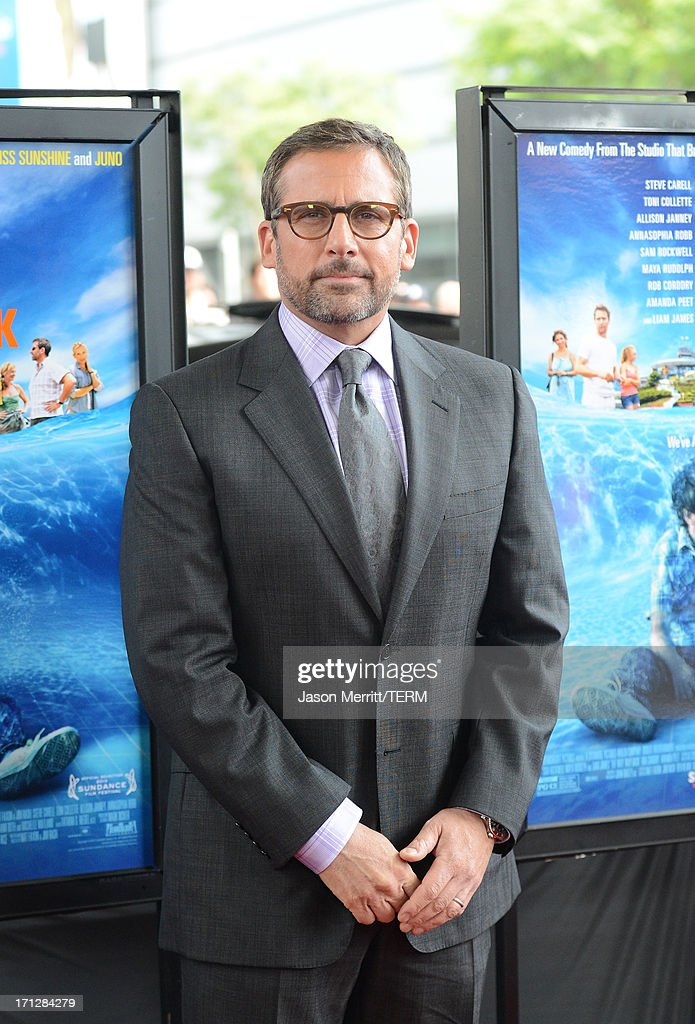 Actor Steve Carell attends the 2013 Los Angeles Film Festival premiere of the Fox Searchlight Pictures' 'The Way, Way Back' held on June 23, 2013 in Los Angeles, California.