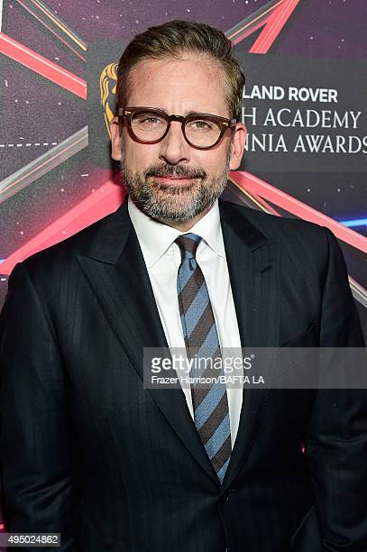 Actor Steve Carell attends the 2015 Jaguar Land Rover British Academy Britannia Awards presented by American Airlines at The Beverly Hilton Hotel on...