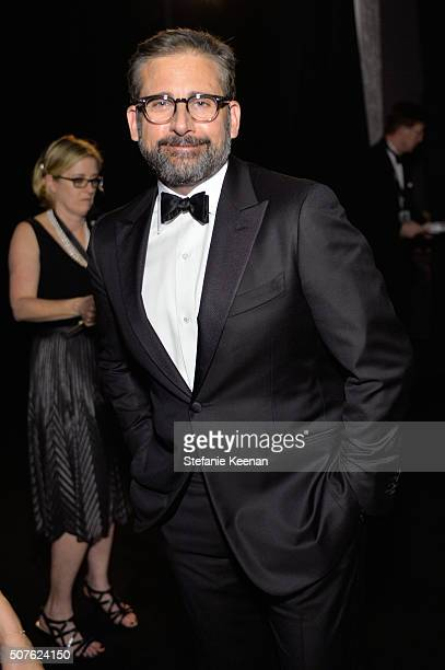 Actor Steve Carell attends The 22nd Annual Screen Actors Guild Awards at The Shrine Auditorium on January 30 2016 in Los Angeles California 25650_016