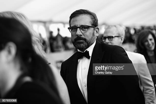 Actor Steve Carell attends The 22nd Annual Screen Actors Guild Awards at The Shrine Auditorium on January 30 2016 in Los Angeles California 25650_020