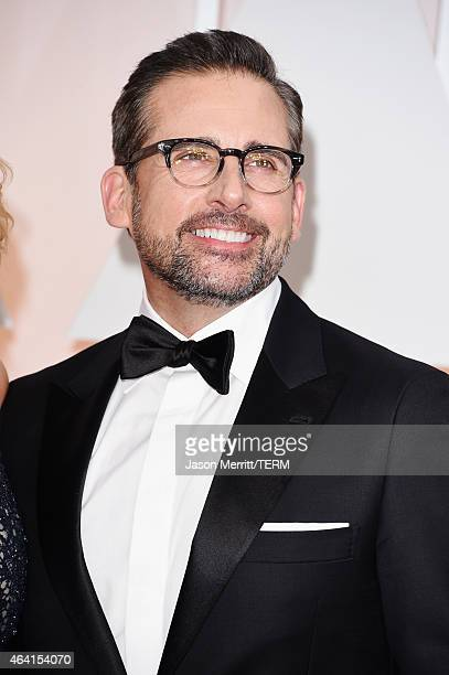 Actor Steve Carell attends the 87th Annual Academy Awards at Hollywood Highland Center on February 22 2015 in Hollywood California