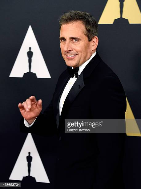 Actor Steve Carell attends the Academy Of Motion Picture Arts And Sciences' 2014 Governors Awards at The Ray Dolby Ballroom at Hollywood Highland...
