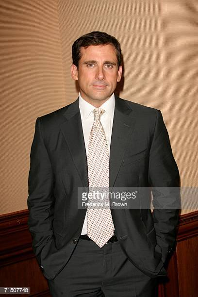 Actor Steve Carell attends the cocktail reception for the 2006 Summer TCA Awards held at The RitzCarlton on July 23 2006 in Pasadena California