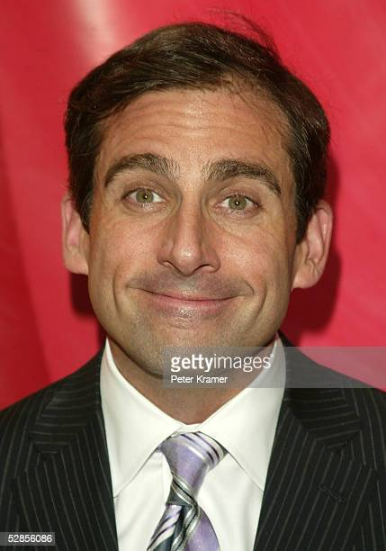 Actor Steve Carell attends the NBC upfront at Radio City Music Hall on May 16 2005 in New York City