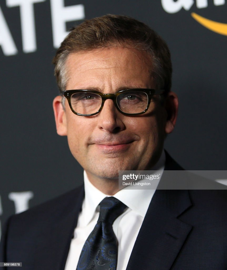 Actor Steve Carell attends the premiere of Amazon's 'Last Flag Flying' at the DGA Theater on November 1, 2017 in Los Angeles, California.