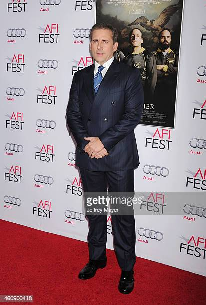 Actor Steve Carell attends the premiere of Sony Pictures Classics' 'Foxcatcher' during AFI FEST 2014 presented by Audi at Dolby Theatre on November...