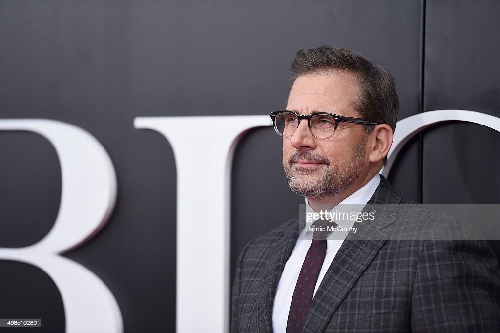 Actor Steve Carell attends the premiere of 'The Big Short' at Ziegfeld Theatre on November 23, 2015 in New York City.
