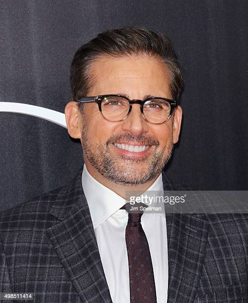 """Actor Steve Carell attends the """"The Big Short"""" New York premiere at Ziegfeld Theater on November 23, 2015 in New York City."""