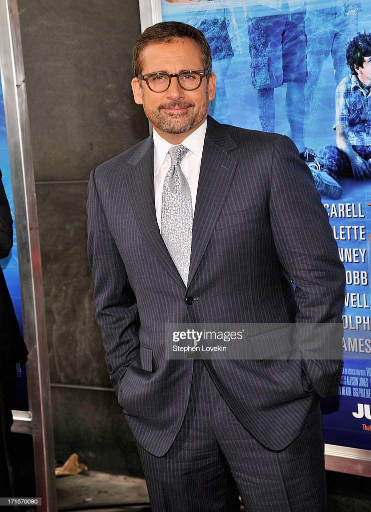 Actor Steve Carell attends 'The Way, Way Back ' New York Premiere at AMC Loews Lincoln Square on June 26, 2013 in New York City.