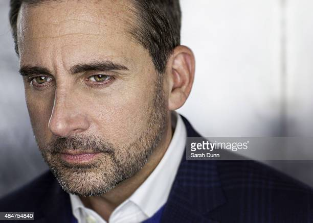 Actor Steve Carell is photographed for Empire magazine on October 16 2014 in London England