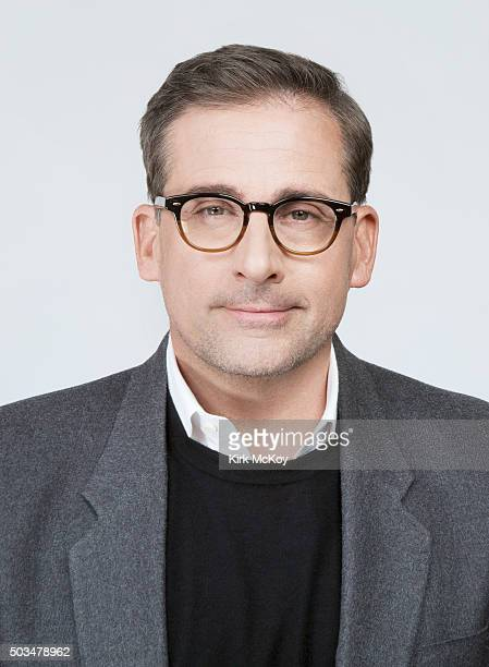 Actor Steve Carell is photographed for Los Angeles Times on December 14 2015 in Los Angeles California PUBLISHED IMAGE CREDIT MUST READ Kirk...