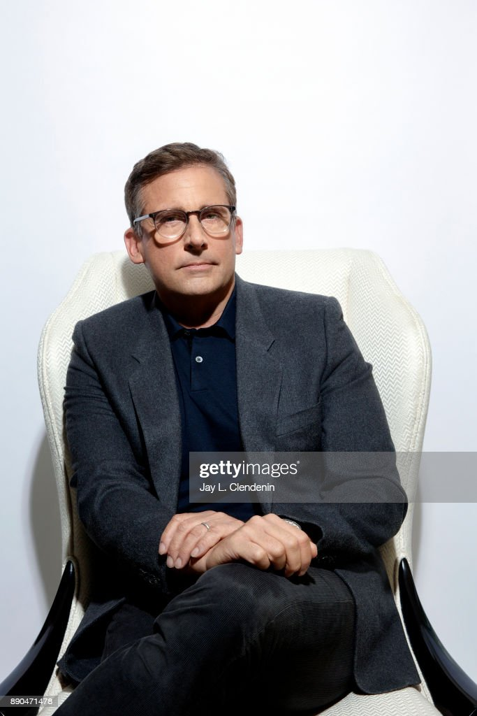 Actor Steve Carell is photographed for Los Angeles Times on November 1, 2017 in Los Angeles, California.