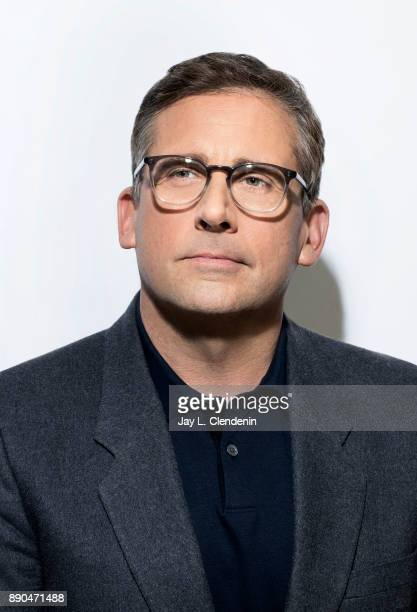 Actor Steve Carell is photographed for Los Angeles Times on November 1 2017 in Los Angeles California