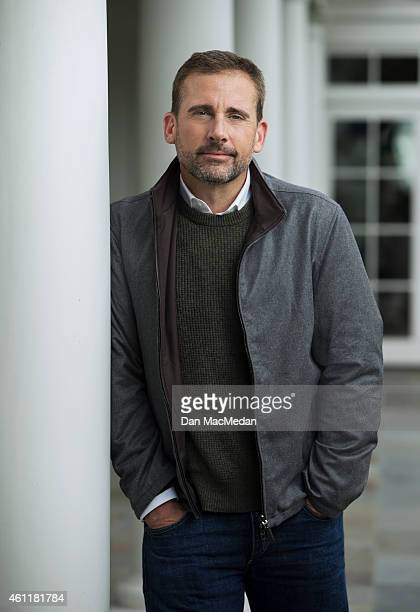 Actor Steve Carell is photographed for USA Today on December 17 2014 in Los Angeles California PUBLISHED IMAGE