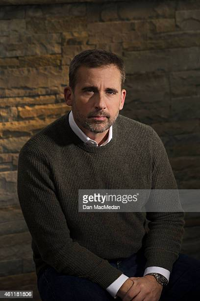 Actor Steve Carell is photographed for USA Today on December 17 2014 in Los Angeles California