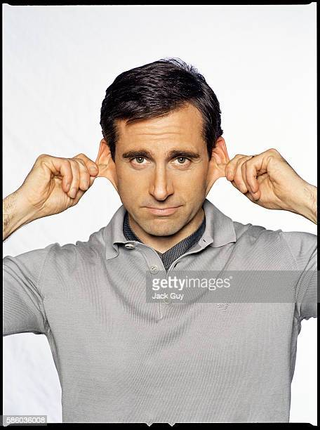 Actor Steve Carell is photographed in 2006 in Los Angeles California