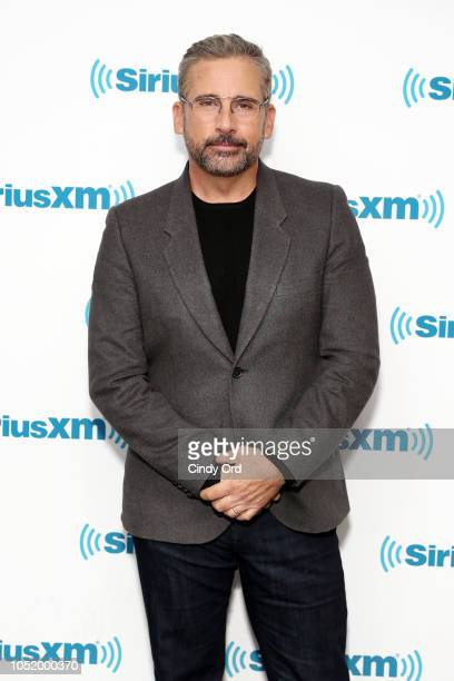 Actor Steve Carell visits the SiriusXM Studios on October 11 2018 in New York City