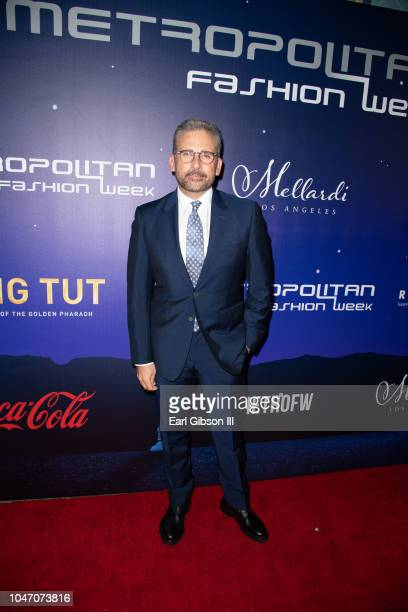 Actor Steve Carrell attends the Metropolitan Fashion Week's Closing Gala And Fashion Awards at Los Angeles City Hall on October 6 2018 in Los Angeles...
