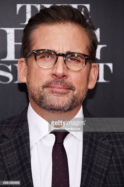 Actor Steve Carrell attends the premiere of The Big Short at Ziegfeld Theatre on November 23 2015 in New York City