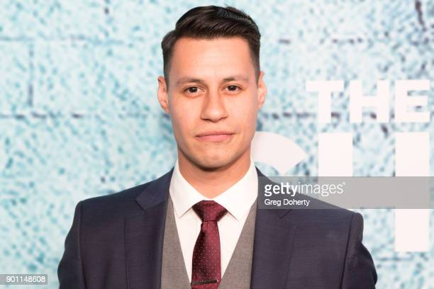 Actor Steve Casillas attends the Premiere Of Showtime's 'The Chi' at Downtown Independent on January 3 2018 in Los Angeles California