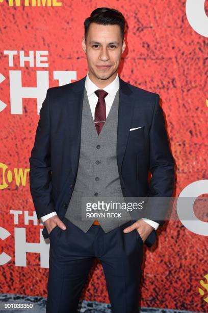 Actor Steve Casillas attends the world premiere of the new Showtime drama 'The Chi' January 3 2018 at the Downtown Independent in Los Angeles...
