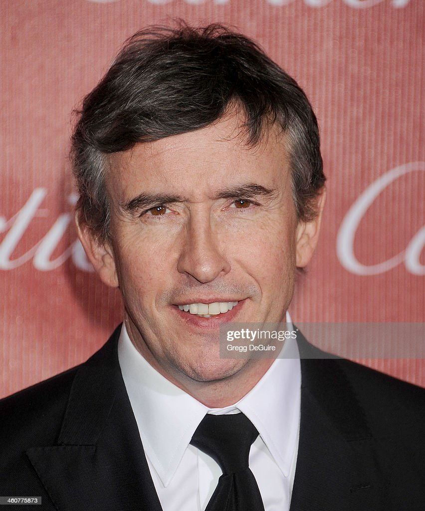 Actor Steve Coogan arrives at the 25th Annual Palm Springs International Film Festival Awards Gala at Palm Springs Convention Center on January 4, 2014 in Palm Springs, California.