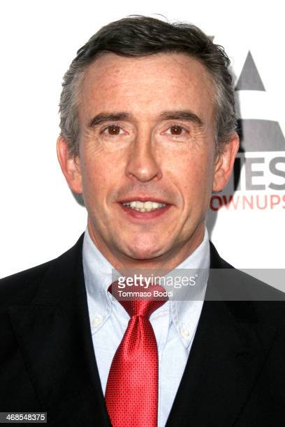 Actor Steve Coogan attends the AARP's Movies For Grownups Awards Gala held at the Regent Beverly Wilshire Hotel on February 10 2014 in Beverly Hills...