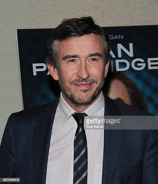 Actor Steve Coogan attends the 'Alan Partridge' New York screening at Landmark's Sunshine Cinema on April 2 2014 in New York City