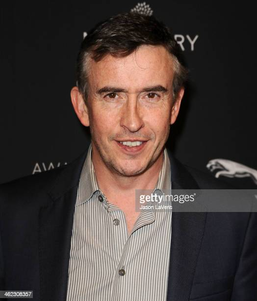 Actor Steve Coogan attends the BAFTA LA 2014 awards season tea party at Four Seasons Hotel Los Angeles at Beverly Hills on January 11 2014 in Beverly...