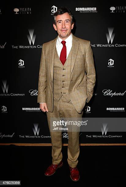 Actor Steve Coogan attends The Weinstein Company's Academy Award party hosted by Chopard and DeLeon Tequila at Montage Beverly Hills on March 1 2014...