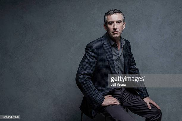 Actor Steve Coogan is photographed at the Toronto Film Festival on September 8 2013 in Toronto Ontario